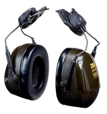 3M™ Peltor™ Optime™ Deluxe, Copas H7P3E-01, Acople a Casco Dielectrico