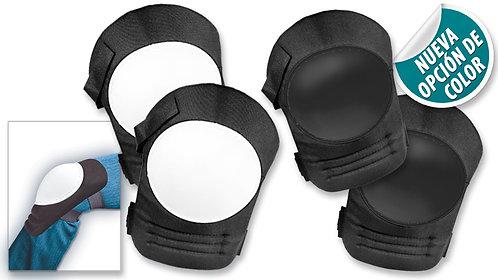 Protectores para Rodillas – 2 piezas: Dos opciones de color:Blanco/Negro y Negro