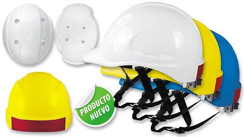 Casco de Seguridad Tipo Industrial • TIPO I •Tafilete de 6 apoyos,Con ratchet.