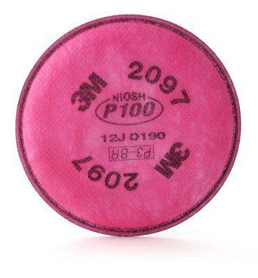 3M™ Filtro para Partículas 2097, P100, Vapores Orgánicos (2 unds)
