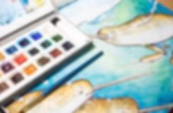 Art Illustration Whale illustrator watercolour book design childrens