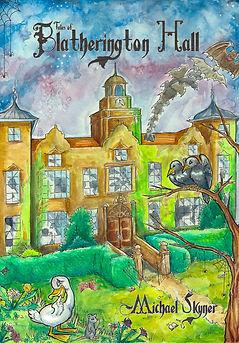 Front cover watercolour illustration traditional art artist illustrator nottingham uk derbyshire  book childrens