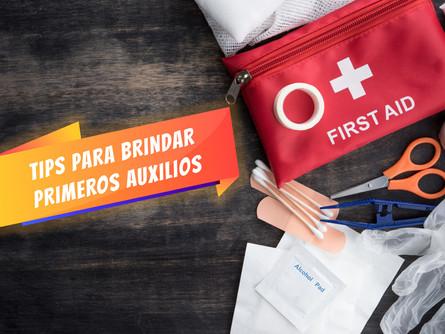 Tips para brindar primeros auxilios