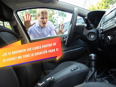 ¿Se te quedaron las llaves dentro de tu coche? AVI tiene la solución para ti