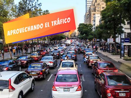 Aprovechando el tráfico