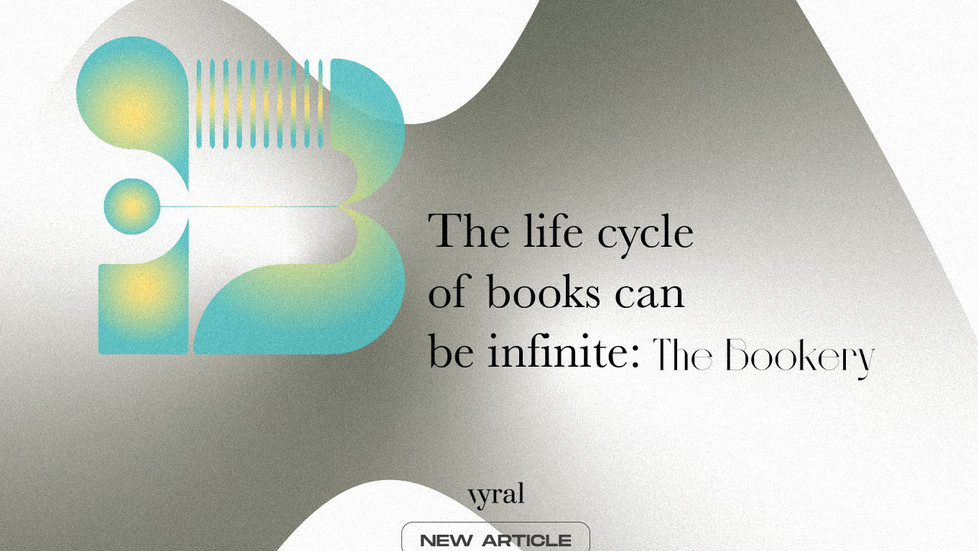 The life cycle of books can be infinite: The Bookery