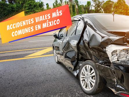 Accidentes viales más comunes en México