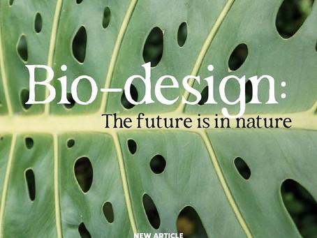 Bio-design: the future is in nature
