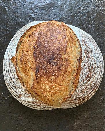 Smoked rye sourdough! #sourdough #leaven