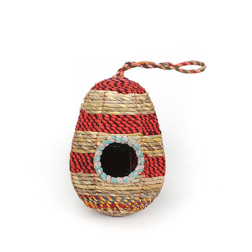 Recycled Material Birdhouse