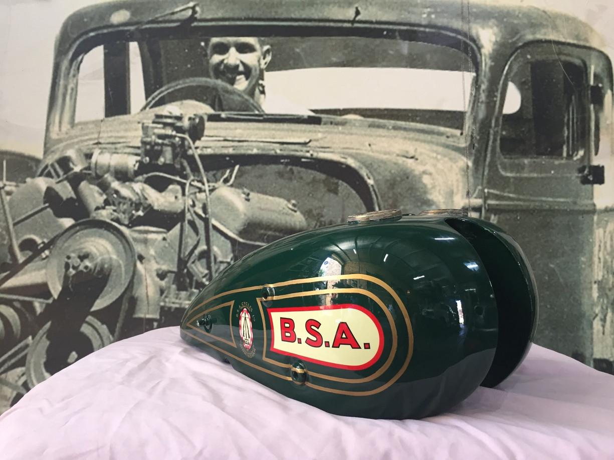 1928 Tourist Trophy Isle of Man Racer tank