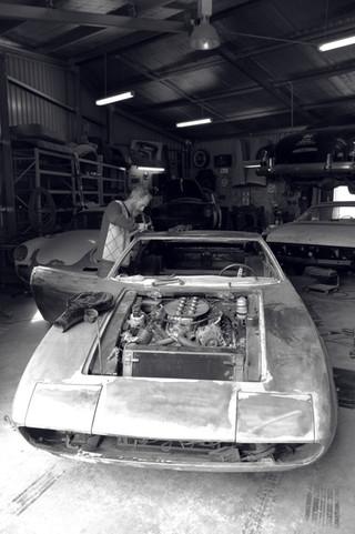 Maserati Ghibli at Vintique Moto