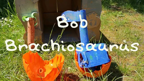 'Bob Brachiosaurus' Story by Ezra aged 5