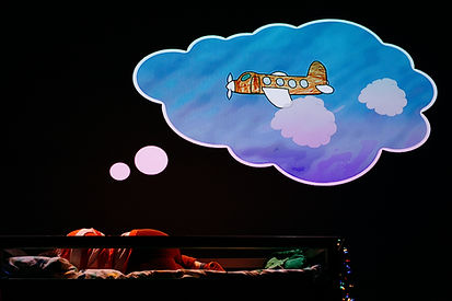 Nina dreaming of a plane