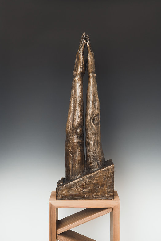 My Love, cast bronze, 29.5 x 10 x 5.5 Inches