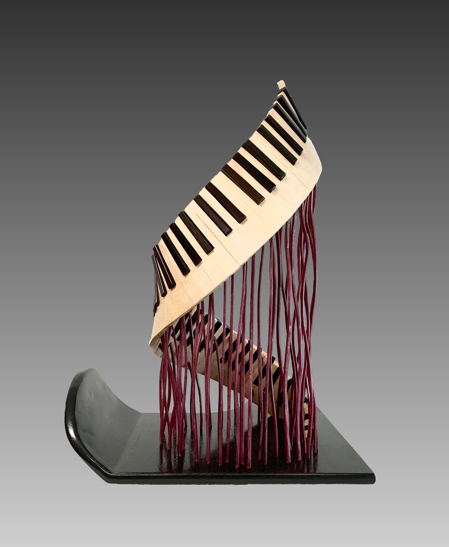 Ascension of a Piano