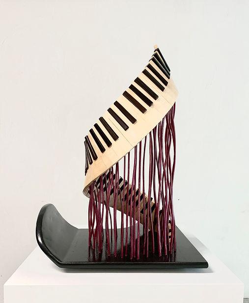 Ascension of a Piano, 2019