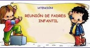 CONVOCATORIA REUNIÓN TRIMESTRAL EDUCACIÓN INFANTIL 5 AÑOS