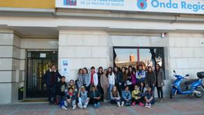 3º de la ESO visita Onda Regional