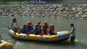 Días de rafting por el río Segura.