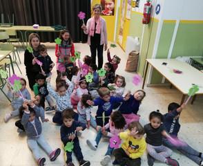 Acto de bienvenida a los alumnos de 3 años.