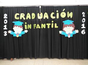 GRADUACIÓN INFANTIL 5 AÑOS.Promoción 2013-2016