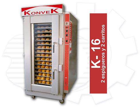 Horno KONVEK K-16