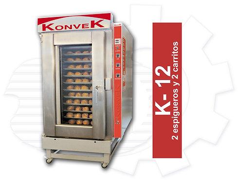 Horno KONVEK K-12 de Alta Producción