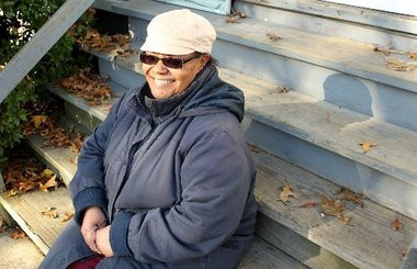 A foster mother's story inspires a holiday surprise in Irvington.