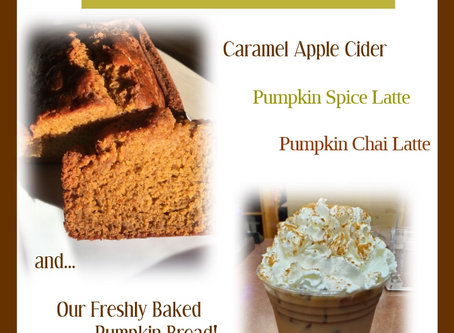 It's still not too late to catch the fall flavors...