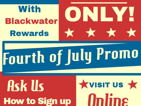 4th of July Weekend Promo