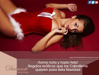 Regalos eróticos que los Caballeros quieren para ésta Navidad, toma nota y hazlo feliz
