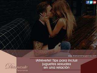 ¡Atrévete! Tips para incluir juguetes sexuales en una relación: