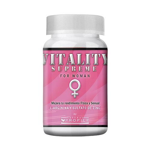 Vitality Supreme for Woman (para damas) (30 cápsulas)