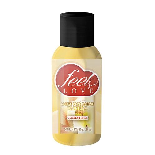 Feel Love Xpress Aceite Térmico 25ML Vainilla