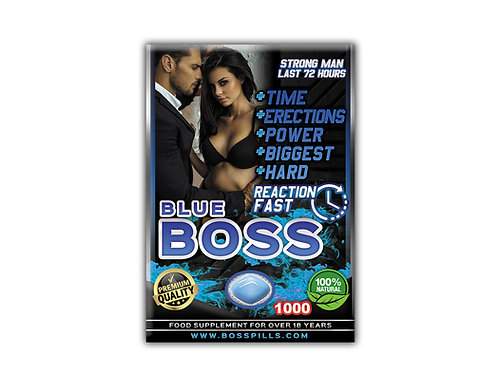 BLUE BOSS 1000 PLUS 72 Hrs - 1 Toma