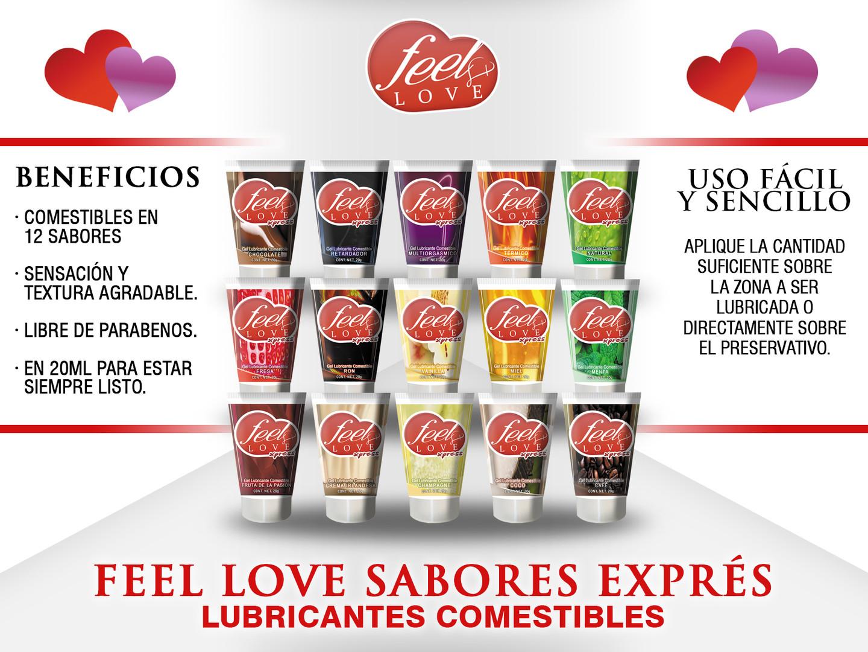 Fichas Tecnicas Productos Feel Love Lubr