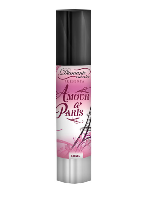 Feromonas en Crema para Dama de exquisitos aromas: Amour a Paris 60ml