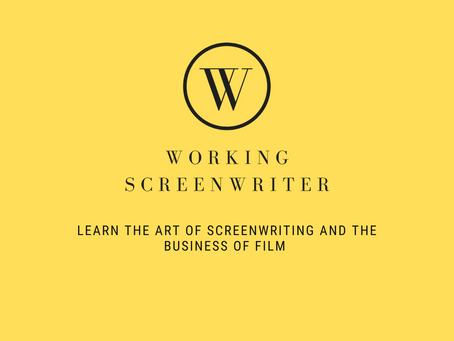 So why are you teaching an online screenwriting course?