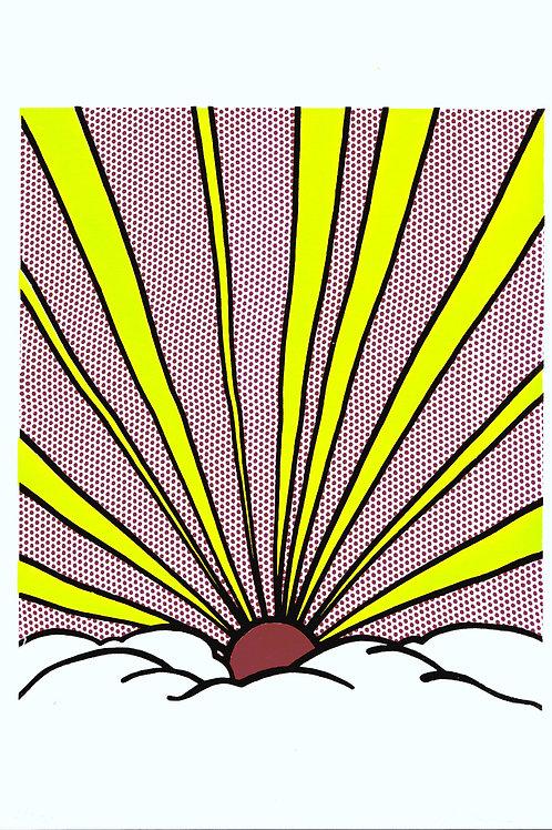Sunrise after R Lichtenstein