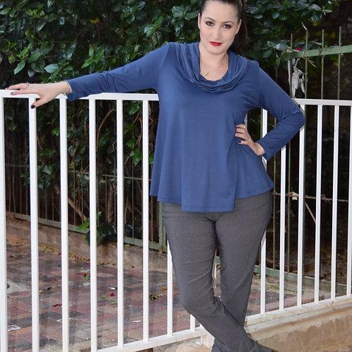 חולצת מיכאלה כחולה