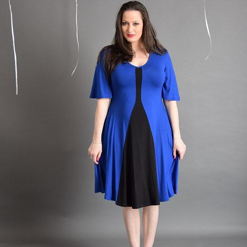 שמלת גיא כחולה