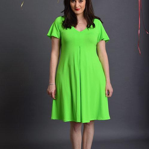 שמלת איריס ירוקה