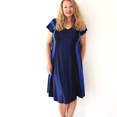 שמלת שמש כחולה
