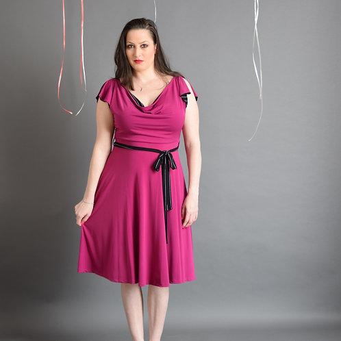 שמלת פריס ורוד סגול