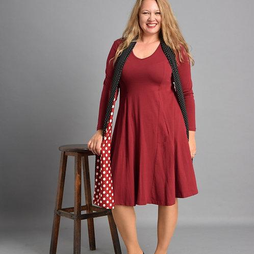שמלת אנג׳לה בורדו
