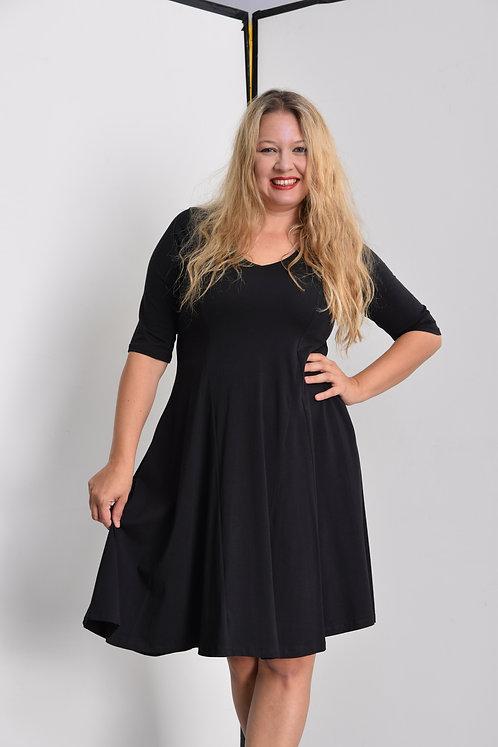 שמלת אנג׳לה שחורה