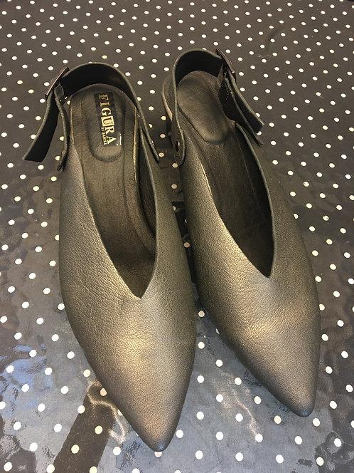 נעלי עינת פיוטר - כסף מושחר