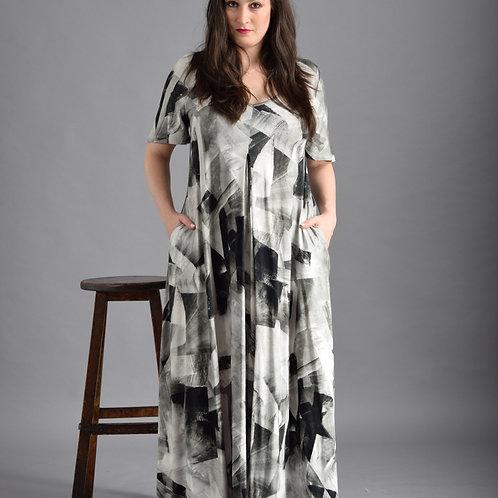 שמלת איריס קרח שחור