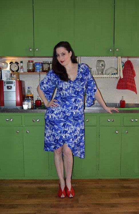 שמלת כוכב כחול דוגמא